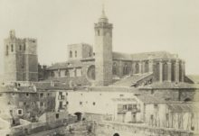 Vista de la Catedral de Sigüenza (detalle). Casiano Alguacil.