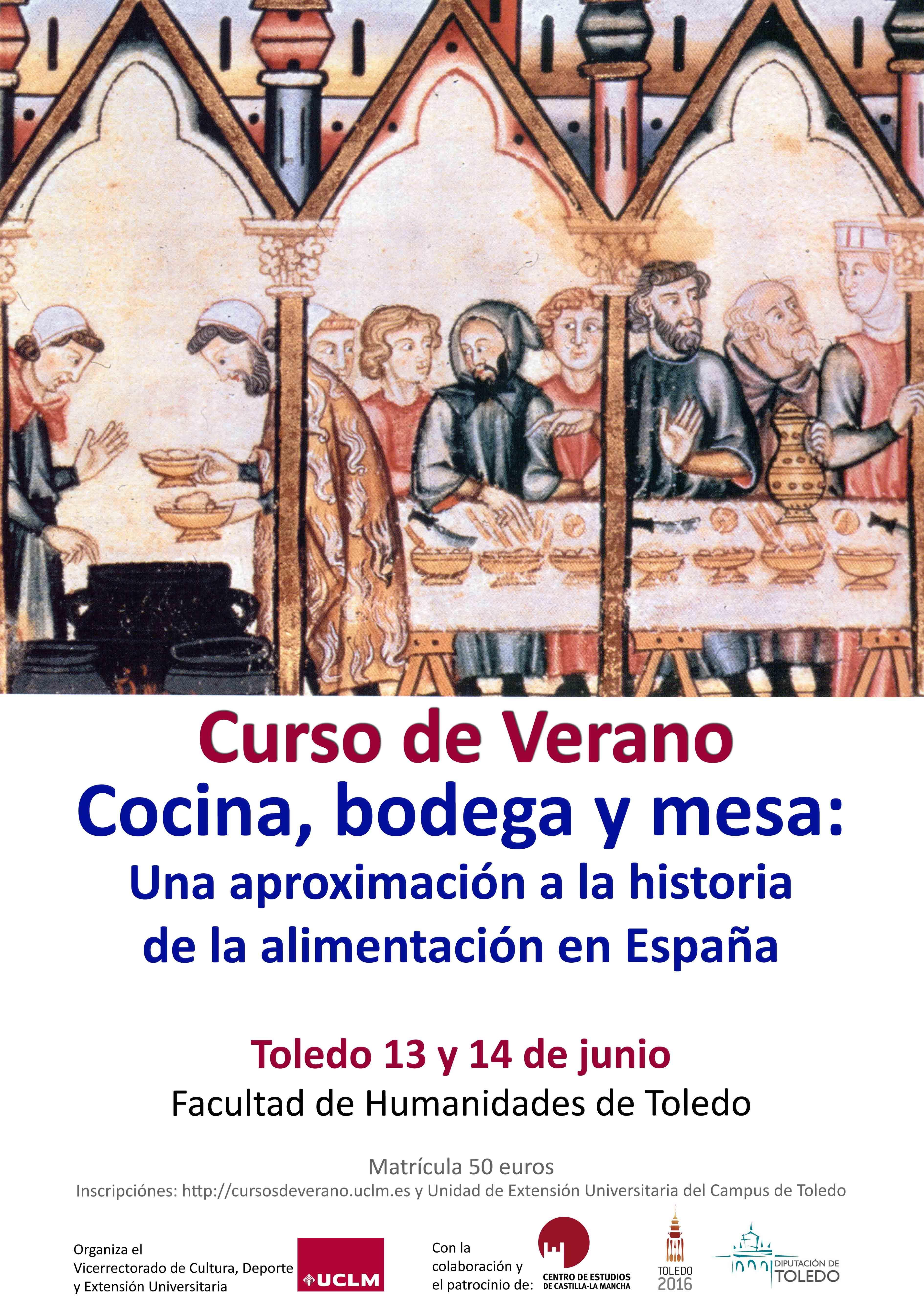 Curso de verano cocina bodega y mesa historia de la for Curso de cocina pdf