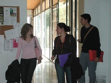 Facultad de Humanidades - Pasillo de la Facultad